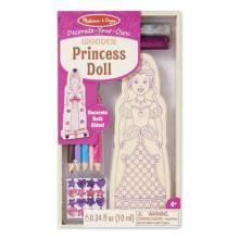 Princess Doll Craft Kit By Melissa & Doug 4Yr+