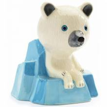 Polar Bear Money Box By Djeco 3+