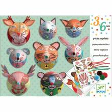 Pop Up Paper Decorations Set By Djeco 3-6yrs