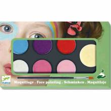 Face Painting Palette 6 Colours - Sweet