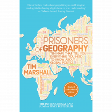 Prisoners Of Geography - Paperback Book