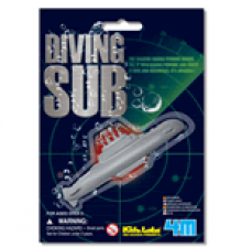 Diving Submarine Mini Bath Toy Kidz Labs