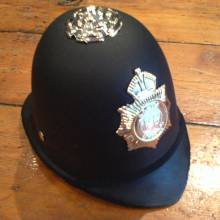 Policemans Helmet. Dress up and Play.
