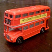 London Routemaster Bus Die Cast.