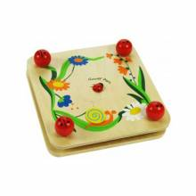 Wooden Flower Press With Ladybird Screw Corners