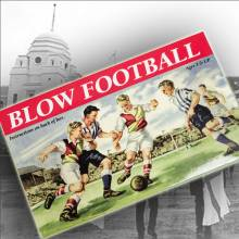Blow Soccer / Football in Classic Box