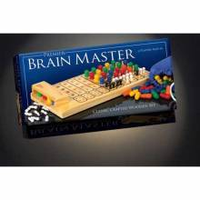 Brain Master Wooden Master Mind Game 5+