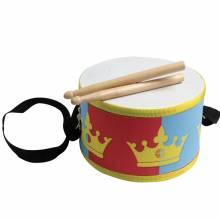 Wooden Drum With Drumsticks And Strap 3yr+