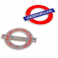 London Undergroung Bottle Opener