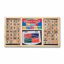 Alphabet Stamp Set By Melissa And Doug