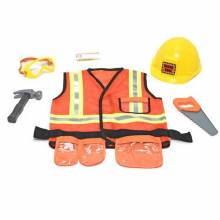 Builder Construction Worker Fancy Dress Role Play Costume Set