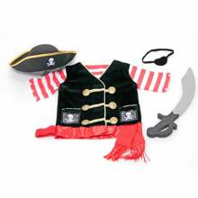 Pirate Fancy Dress Role Play Costume Set