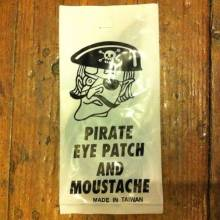 Pirate Eyepatch and Moustache, Arrggghhh!