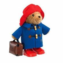 Paddington Bear With Boots & Suitcase - 38cm Large Cuddly Toy