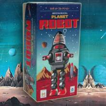 Chrome - Planet Robot Tin Toy