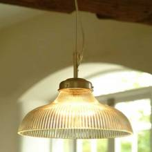 Paris Pendant Light Glass And Nickel.
