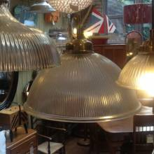 Grand Paris Pendant Light Glass And Nickel.