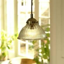 Petit Paris Pendant Light Glass And Nickel.