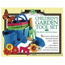 Gardening Set For Children - 3 Tools & Watering Can In Bag