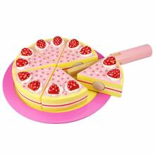 Wooden Strawberry Party Cake 3yr+