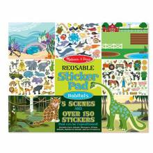 Habitats Reusable Sticker Pad By Melissa & Doug