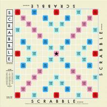 Scrabble Tea Towel