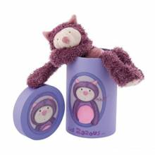 Cat Soft Toy In Cylinder Box