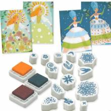 Flower Maidens Stamp Art Set Age 6-12yrs