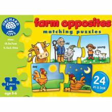 Farm Opposites Puzzle By Orchard 3-6yrs