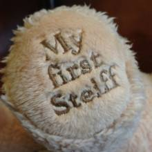 My First Steiff Bear Soft Toy 0+