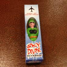 Skydiver Boxed Parachuting Man Toy 3+