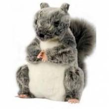 SOLD OUT GREY SQUIRREL Plump Glove Puppet European Wildlife