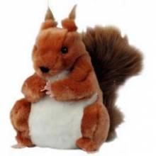RED SQUIRREL Plump Glove Puppet European Wildlife