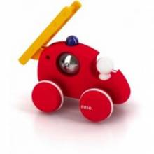 BRIO® Pull Along FIRETRUCK ENGINE (Red) 12mth+