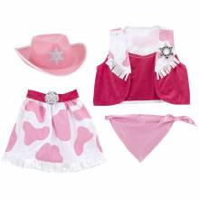 COWGIRL Fancy Dress Role Play Costume Set