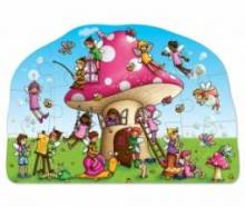 Fairy Cottage Puzzle Jigsaw By Orchard Toys 3-6yrs