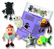 Nursery Rhymes Storytime Finger Puppet Set