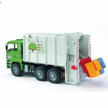 Bruder Dustbin Lorry Refuse Recycling Truck.