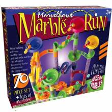 Marble Run 70 Piece With Marbles 3+