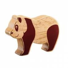 Panda Wooden Animal Figure Handcrafted Fairtrade Lanka Kade