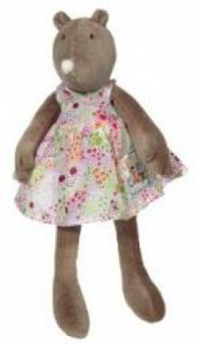 Small Apolline the Mole Moulin Roty Soft Toy 30cm