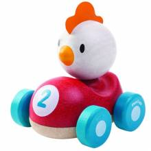 Chicken Racer Plan Toys 12m+