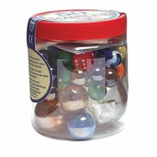 Classic Tub of 50 Marbles With Bag