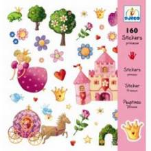 Princess Marguerite - Stylish Stickers 160 Pack By Djeco