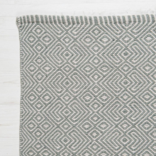 Provence GREY 180 x 120cm Recycled Bottle Rug