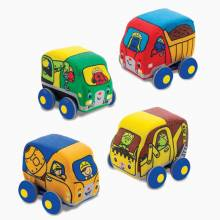 Pull Back Construction Vehicles By Melissa & Doug 9m+