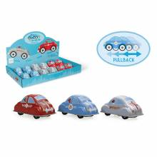 Metal Pull Back Friction Car Tin Toy 3+