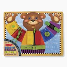 Basic Skills Puzzle Board By Melissa & Doug 3+