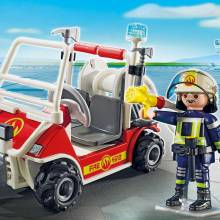 Fire Quad City Action Playmobil 5398 4-10yrs