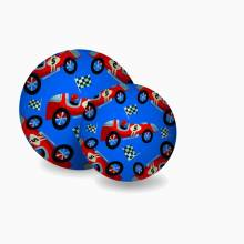 Race Car - Large Rubber Picture Ball 18cm